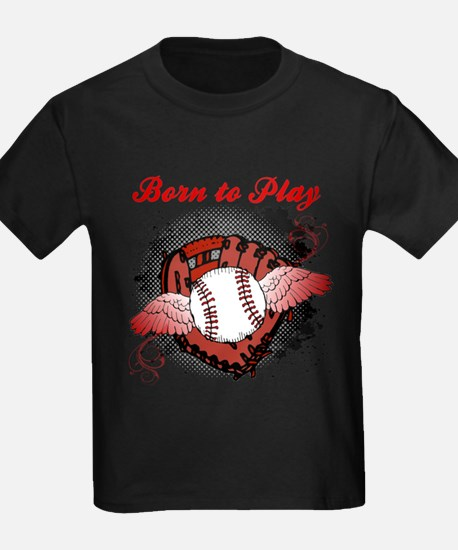 Born to Play Baseball T