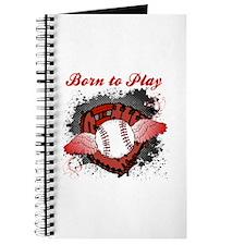 Born to Play Baseball Journal