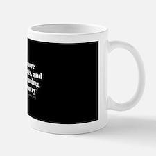 More indictments (mini type) Mug