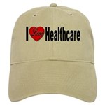 I Love Healthcare Cap