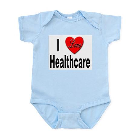 I Love Healthcare Infant Creeper