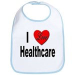 I Love Healthcare Bib