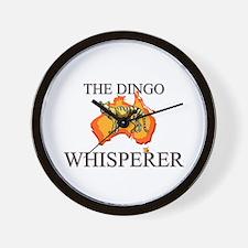 The Dingo Whisperer Wall Clock