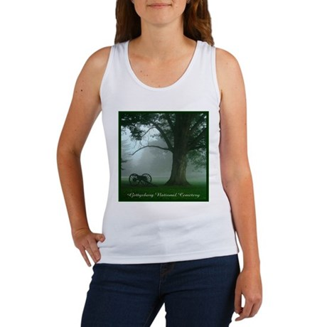 Gettysburg National Cemetery Women's Tank Top