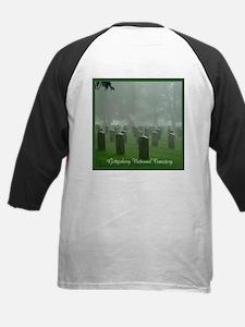 Gettysburg National Cemetery Kids Baseball Jersey