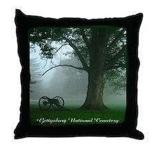 Gettysburg National Cemetery Throw Pillow