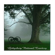 Gettysburg National Cemetery Tile Coaster