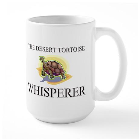 The Desert Tortoise Whisperer Large Mug