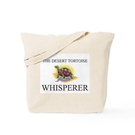 The Desert Tortoise Whisperer Tote Bag