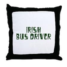 Irish Bus Driver Throw Pillow