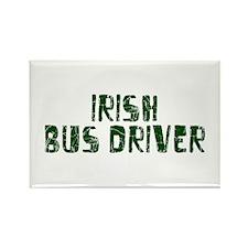 Irish Bus Driver Rectangle Magnet