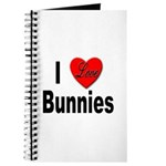 I Love Bunnies Journal
