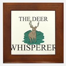 The Deer Whisperer Framed Tile