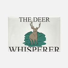 The Deer Whisperer Rectangle Magnet