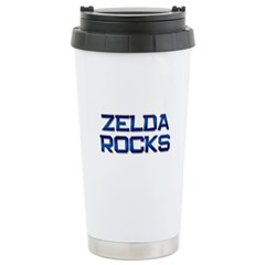 zelda rocks Stainless Steel Travel Mug