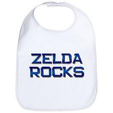 zelda rocks Bib