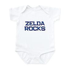zelda rocks Infant Bodysuit