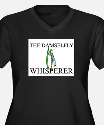 The Damselfly Whisperer Women's Plus Size V-Neck D