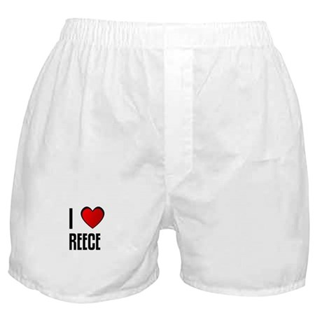 I LOVE REECE Boxer Shorts