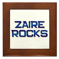 zaire rocks Framed Tile