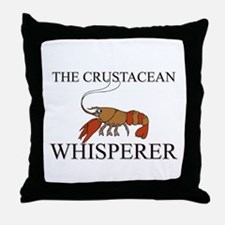 The Crustacean Whisperer Throw Pillow