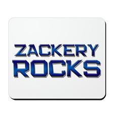 zackery rocks Mousepad