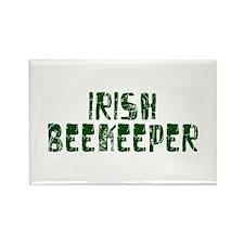 Irish Beekeeper Rectangle Magnet