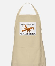 The Crayfish Whisperer BBQ Apron