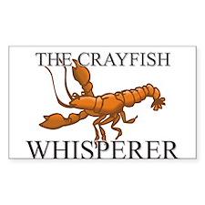 The Crayfish Whisperer Rectangle Decal