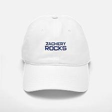 zachery rocks Baseball Baseball Cap