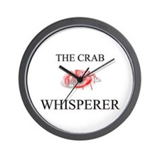 The Crab Whisperer Wall Clock