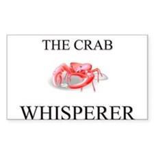 The Crab Whisperer Rectangle Decal