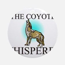 The Coyote Whisperer Ornament (Round)