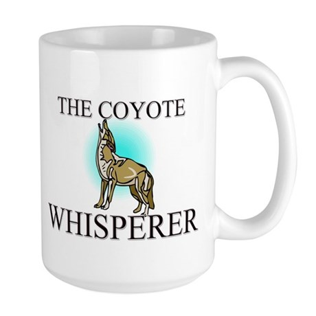The Coyote Whisperer Large Mug