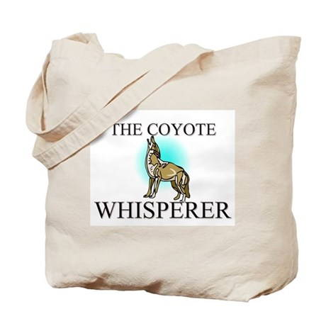 The Coyote Whisperer Tote Bag