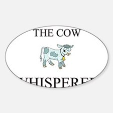 The Cow Whisperer Oval Decal
