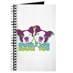 DOUBLE DOG DARE YOU Journal