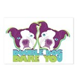 DOUBLE DOG DARE YOU Postcards (Package of 8)
