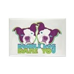 DOUBLE DOG DARE YOU Rectangle Magnet (10 pack)