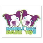 DOUBLE DOG DARE YOU Small Poster