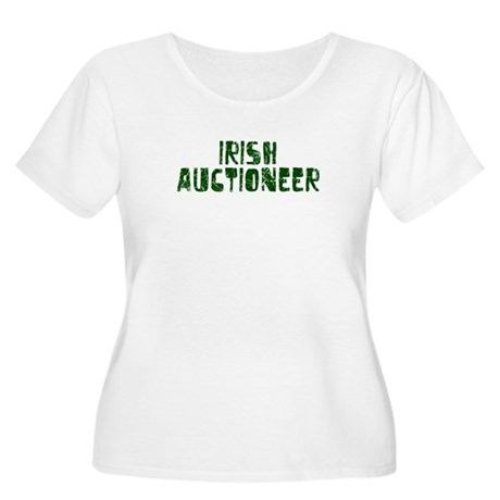 Irish Auctioneer Women's Plus Size Scoop Neck T-Sh