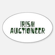 Irish Auctioneer Oval Decal