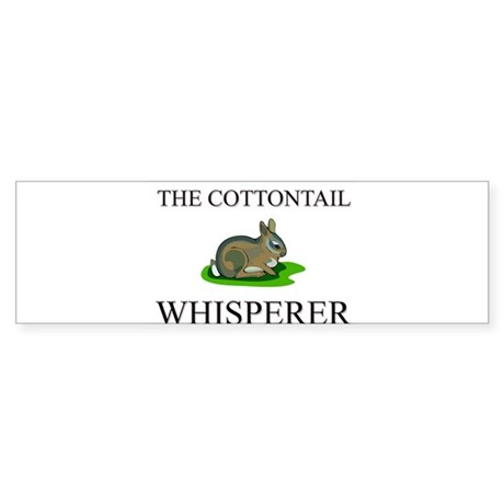 The Cottontail Whisperer Bumper Sticker