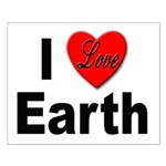 I Love Earth Small Poster