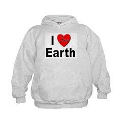 I Love Earth Hoodie
