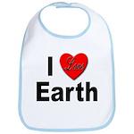 I Love Earth Bib
