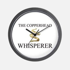 The Copperhead Whisperer Wall Clock