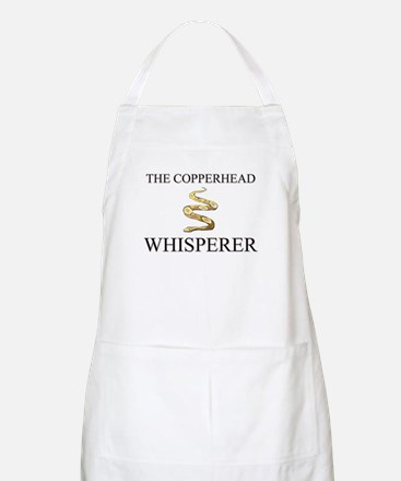 The Copperhead Whisperer BBQ Apron