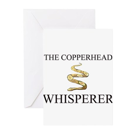 The Copperhead Whisperer Greeting Cards (Pk of 10)