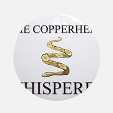 The Copperhead Whisperer Ornament (Round)